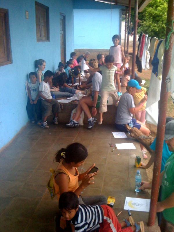 Nicaragua Day 2 Painting Walls What S Going On At